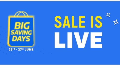 FlipKart Big Saving Days : 23 - 27 June